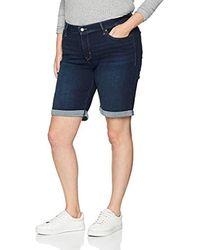 Levi's PL Shaping Bermuda Pantaloncini - Blu
