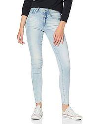 G-Star RAW Damen Jeans 3301 High Skinny - Blau