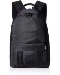 Calvin Klein NASTRO Logo Backpack - Negro