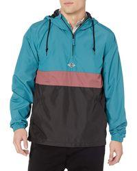 Billabong Wind Swell Anorak Jacket - Blue