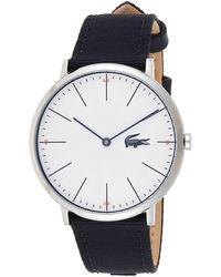Lacoste Reloj Análogo clásico para Hombre de Cuarzo con Correa en Tela 2010914 - Azul