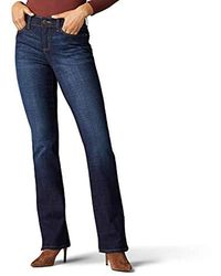 Lee Jeans Flex Motion Regular Fit Bootcut Jean - Blu