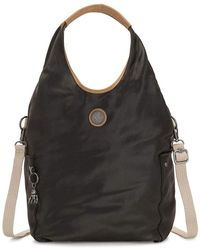 Kipling Edgeland Plus Urbana Large Shoulderbag Delicate Black