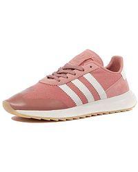 adidas Originals Originals Flashback Running Trainer in Pink