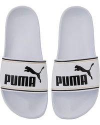PUMA Leadcat FTR Jr - Blanc