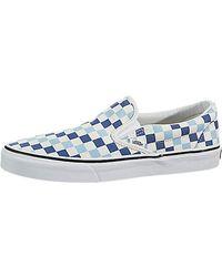 Vans - Unisex Classic (checkerboard ) Slip-on Skate Shoe - Lyst a7e3cea03