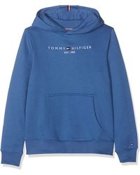 Tommy Hilfiger Essential Hoodie Set 1 Capucha - Azul