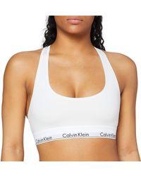 Calvin Klein Bralette Bustier - Weiß