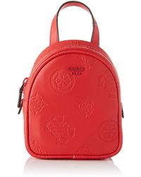 Guess Mini Me Small Backpack - Red