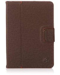 Samsonite Unisex Mobile Pro Leather Pro Portfolio Ipad Minipacking Organiser Brown Dark Brown 20 Cm