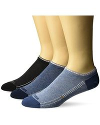 DIESEL Skm-gost-three Pack Underdenim, Multi Denim, Sock Size:10-13/shoe Size: 6-12 - Blue