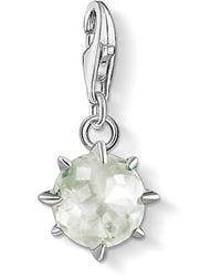 Thomas Sabo Donna argento Bead Charm 1786-465-33 - Verde