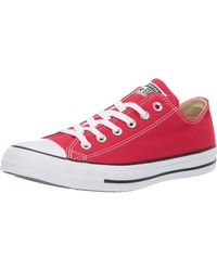 Converse All Star Ox Sneaker - Rouge