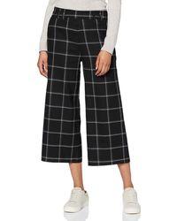 Desigual Pant_Flora Pantalon - Noir