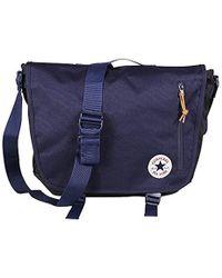 Converse Unisex Shoulder Bag Poly Messenger Midnight Indigo - Blue