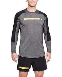 fa9f3cb17d80c Heatgear Perpetual Trainingsshirt T-shirt - Gray