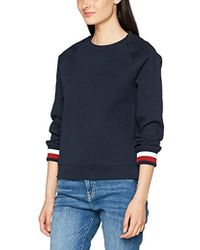 Tommy Hilfiger Lane C NK Sweatshirt Ls Sweat Shirt Femme