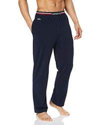 Lacoste Pantaloni Pigiama Uomo - Blu