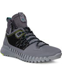 Ecco Zipflex Schuhe Dark Shadow Schuhgröße EU 45 2020 - Mehrfarbig