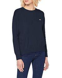 Tommy Hilfiger Tjw Tommy Classics Jumper Sweatshirt - Blue