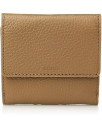Ecco Sp 3 French Wallet - Natural