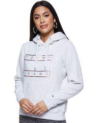 Tommy Hilfiger - Tjw Essential Logo Hoodie Chaqueta Punto - Lyst