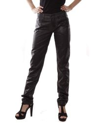 DIESEL Black Gold Tipo-146 Pantaloni Jeans Donna BG855 - Nero