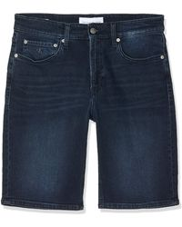 Calvin Klein Slim Short - Azul