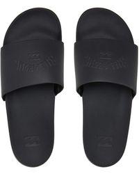 Billabong Stongs Cush Slide Flip Flops Black