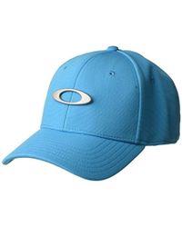 Lyst - Oakley S Metal Tincan Flexfit Hat in White for Men - Save 5% a6dc81dcdaa1