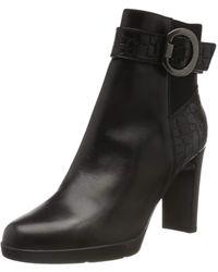 Geox D Annya High B Ankle Boots - Black