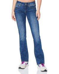 G-Star RAW Midge Saddle Mid Waist Bootcut Jeans - Blue
