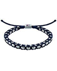 Tommy Hilfiger Jewelry Tira de Pulseras Hombre acero inoxidable - Azul