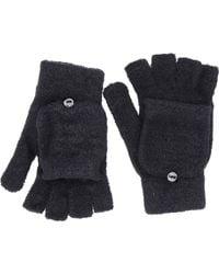 Steve Madden Solid Magic Tailgate Gloves - Black