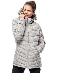5f97ad5a7ee Ladies Selenium Bay Down Jacket - Gray