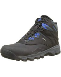 """Merrell - 's Thermo Advnt Ice+ 6"""" Wp High Rise Hiking Boots - Lyst"""