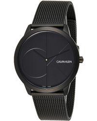 Calvin Klein Orologio Uomo - K3M514B1 - Nero