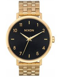 Nixon Uhr Analog Quarz mit Plastikarmband - Schwarz