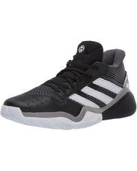 adidas Harden Stepback ShoesBlack/Team Light Blue10 - Noir
