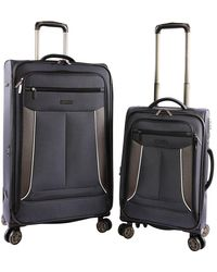 Perry Ellis - Luggage Viceroy 2 Piece Set Expandable Suitcase With Spinner Wheels - Lyst