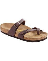 Birkenstock - Mayari (licorice Birko-flor(r)) Women's Sandals - Lyst