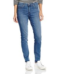 Levi's Shaping Skinny Jeans Donna - Blu
