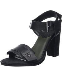 G-Star RAW Claro Sandal, Wedge Heels Sandals - Black