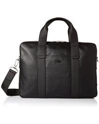 Lacoste Full Ace Computer Bag, Black