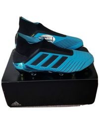 adidas Predator 19+ SG Chaussures de Football Noir