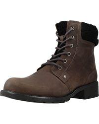 Clarks Orinoco Dusk Biker Boots - Grey