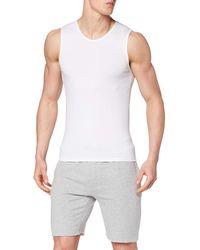 Sloggi T-shirt sans manches - Blanc