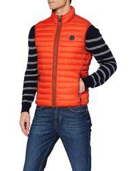 Marc O'polo 21114272052 Sports Gilet - Orange