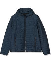Geox Mens Water-Repellent Quilted Wilmer Gilet Blue