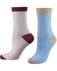 Tom Tailor Ankle socks 2er Pack mix - Mehrfarbig